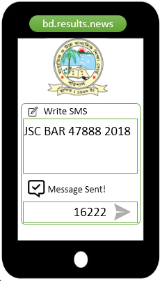 How to check Barisal Board JSC Result 2020 Via SMS