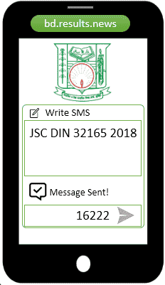 How to check Dinajpur Board JSC Result 2020 Via SMS?
