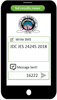How to check Jessore Board JDC Result 2021 Via SMS?
