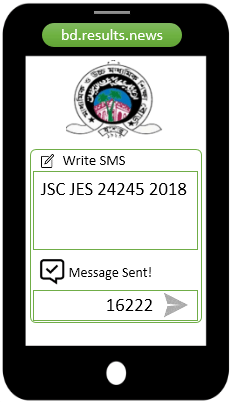 How to check Jessore Board JSC Result 2021 Via SMS?