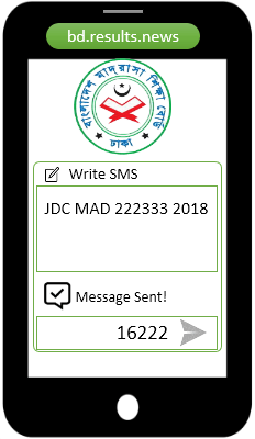 SMS Codes For Madrasah JDC Exam Result 2020