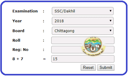 CTG Board SSC Result 2021