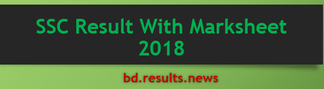 SSC Result With Marksheet 2021