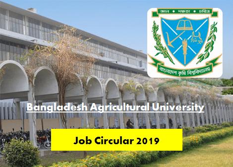 BAU Job Circular 2019