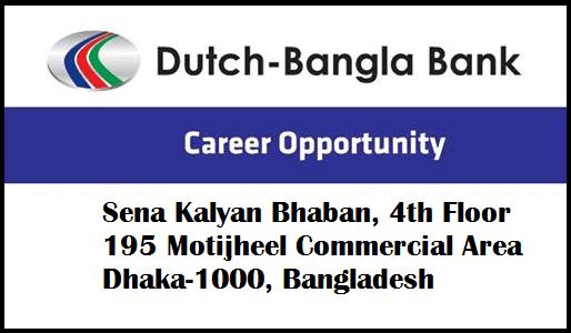 DBBL Jobs in Bangladesh