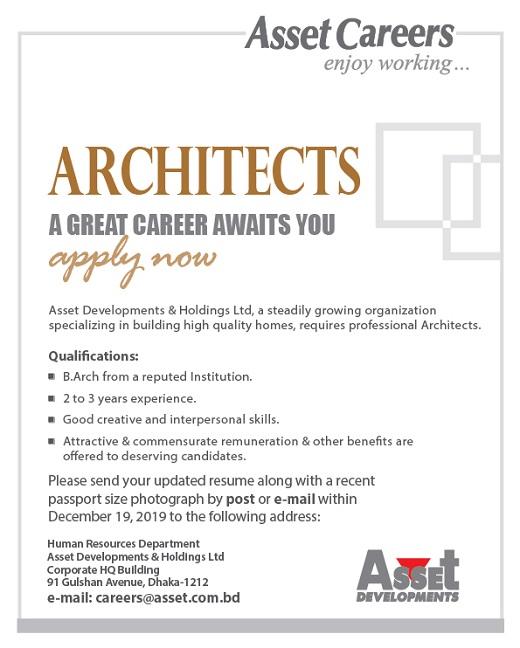 Asset BD Architects Job Circular