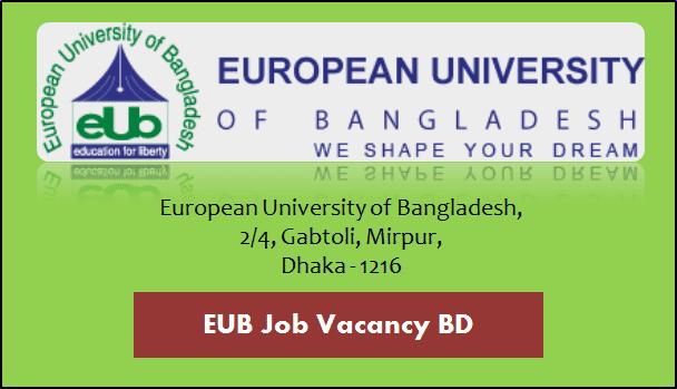 EUB Job Circular